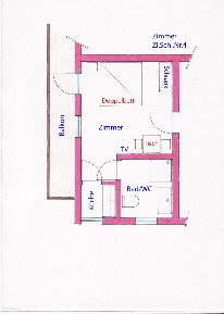 pic of the roomlayout - Appartement Harrer - Zell am See - Kaprun - Austria